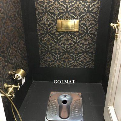 کاسه توالت استیل