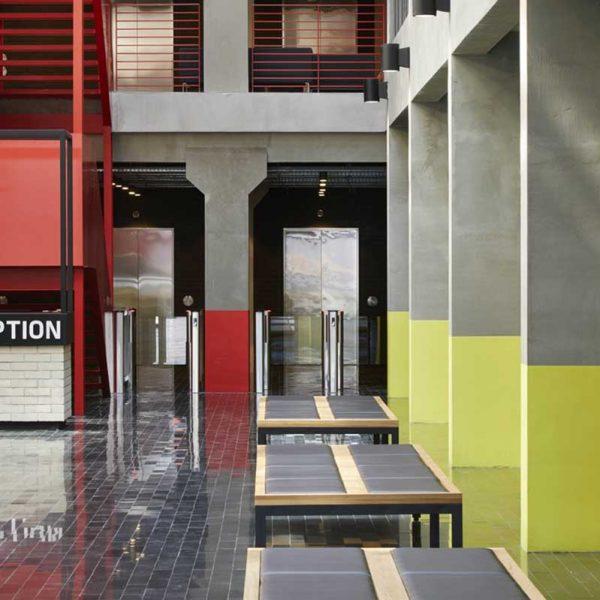طراحی داخلی ساختمان Zhukov